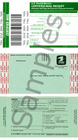 click to see example of certified labels
